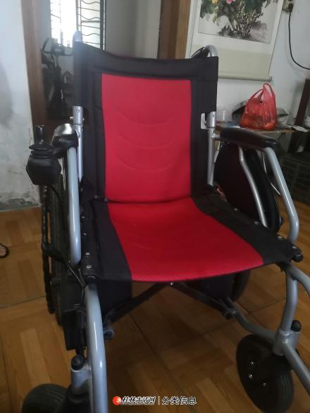 自用九成新电动轮椅转让