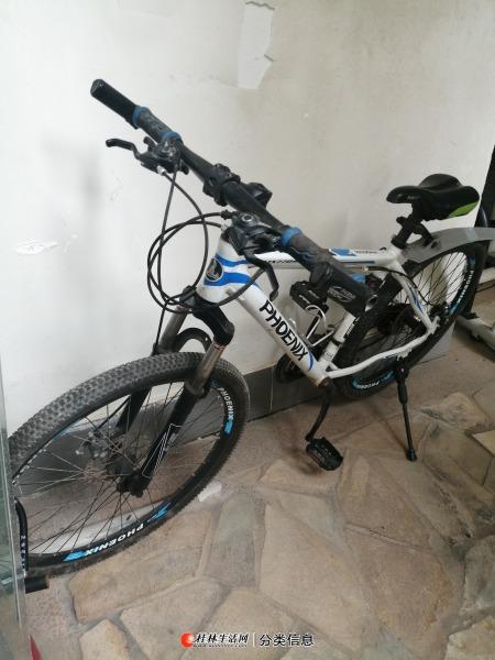 凤凰26英寸山地自行车出售。
