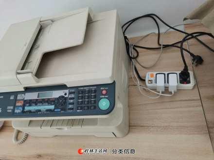 公司松下转让电话打印传真扫描一体机