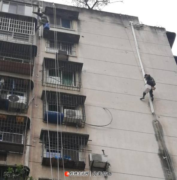 桂林专业外墙水管安装,外墙排水管,高楼外下水管改造维修公司