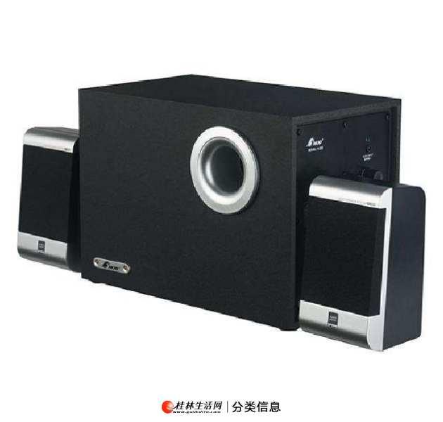 95成新,三诺(NOD)高音质品牌低音炮/音响,电脑笔记本音箱