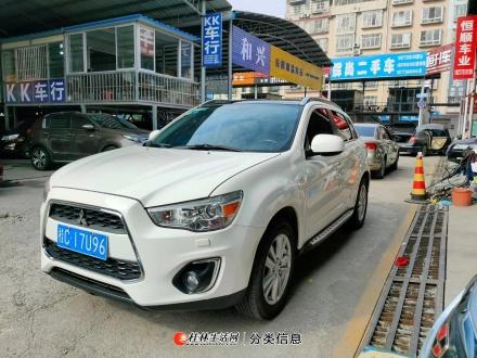 军工品质三菱四驱旗舰劲炫2.0排量自动档出让18277318689