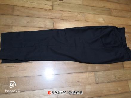 品牌春秋装男装保安裤
