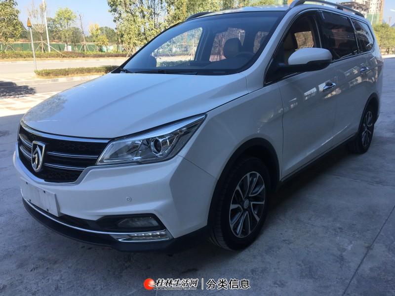 优转18年3月份桂林市一手精品新款高配带电子手刹宝骏730。车况良好无事故,手动挡1.5T