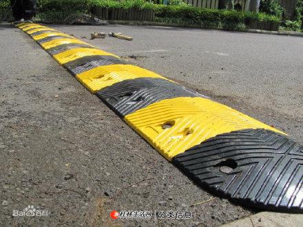 批发供应优质橡胶减速带