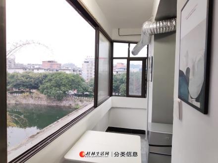 近火车站民航象鼻山逸夫小学宁远桥边江景房单间