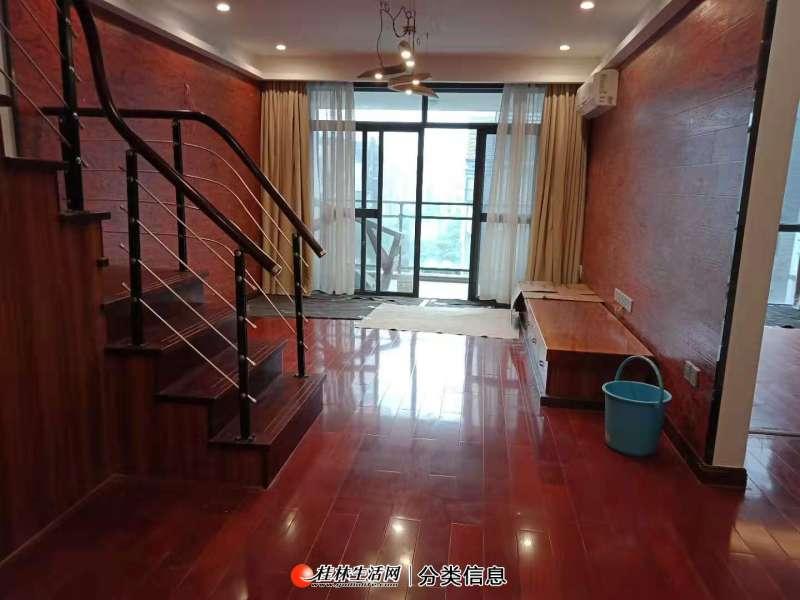 水晶城 联发旭景 豪装顶楼复式四房 带双露台 实用面积180平米