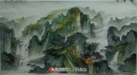 桂林《中国山水画学习班》招学员--美术类职业培训 2020年 12 月 30 日