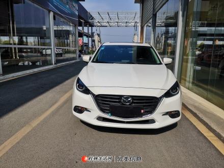 昂克赛拉1.5自动豪华  19年准新车