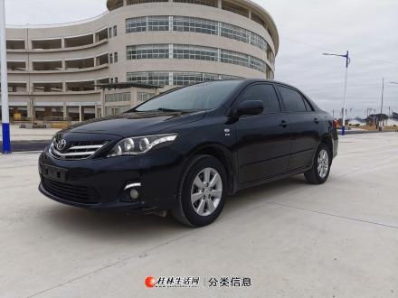 新到桂林市一手车,丰田卡罗拉13年,手动挡1.6排