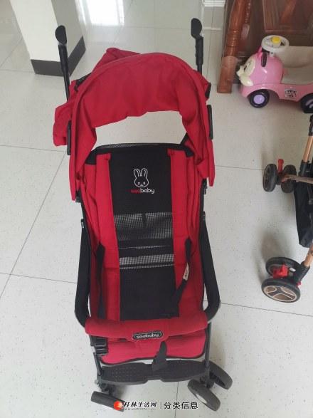低价出售闲置宝宝推车两辆