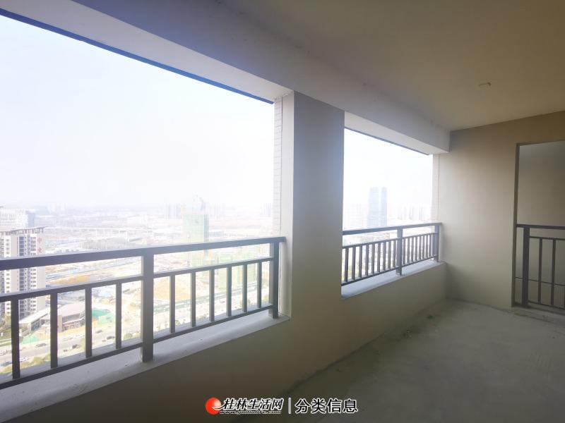 临桂江景房 彰泰城市1号大4房  因急需资金