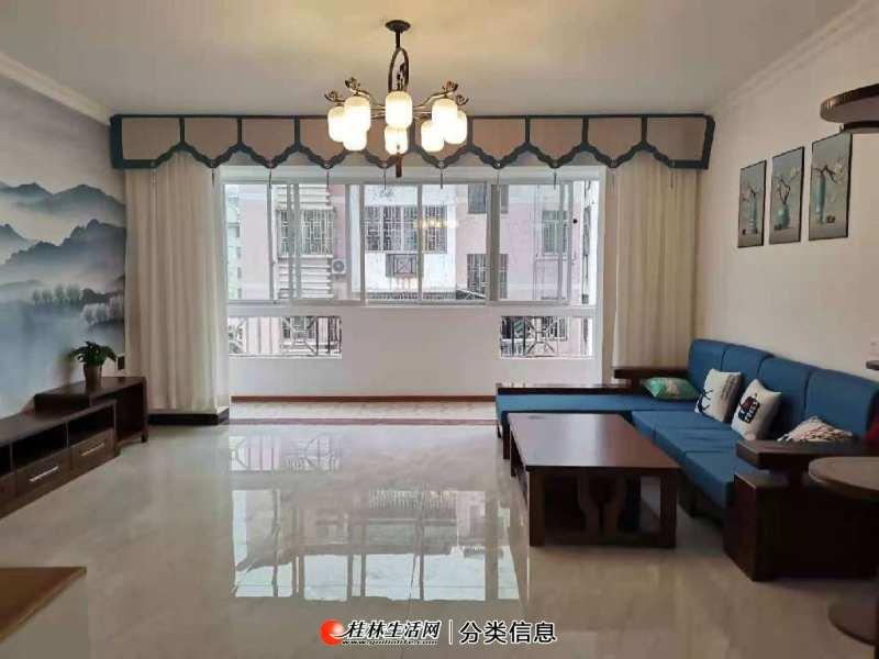 临桂新老城区交汇处精装大3房128平49万出售