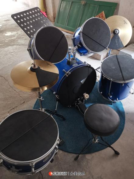 架子鼓 组合鼓 整套鼓低价转让