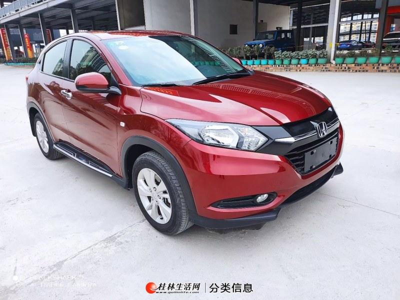 2018年本田 缤智 2017款 1.5L CVT两驱舒适型