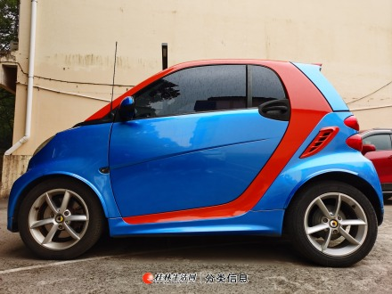 桂林市区15款奔驰smart斯玛特小精灵1.0T顶配私家车转让
