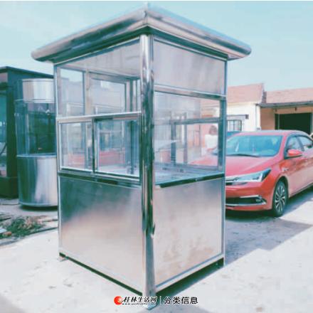 桂林不锈钢岗亭——桂林迈拓安防公司