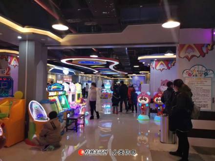 灌阳县中心区域观澜广场大型儿童动漫城