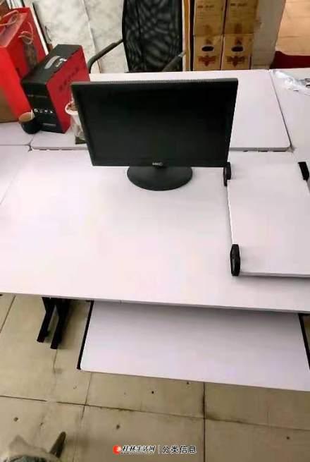 出售全新的公司电脑桌带主机托