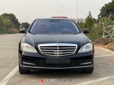 德版纯12年奔驰S600L 4MATIC 黑色黑内