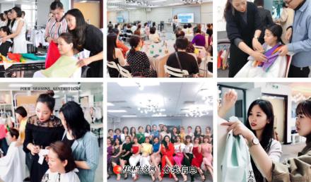 武汉四季色彩美学教育专业形象管理师网络班培训课程三维立体教学
