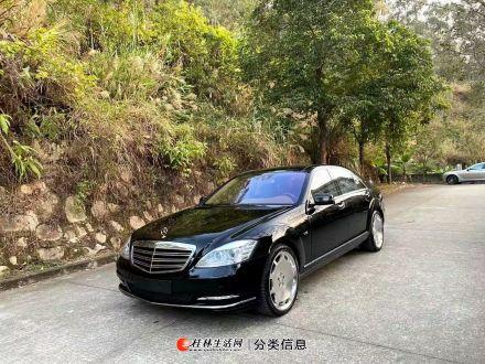 12 年奔驰 S600L 黑色米内