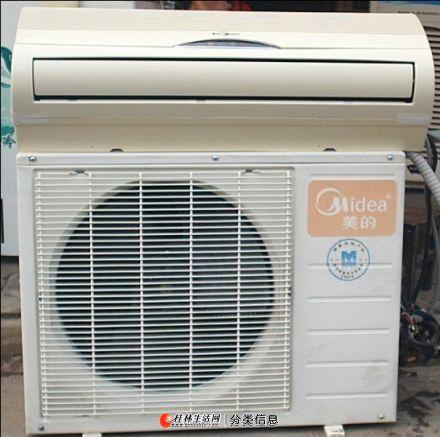 桂林市专业上门回收旧空调二手柜机空调挂机空调坏的空调回收并且维修空调加氟