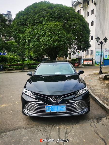 桂林市自用一手私家车零过户丰田凯美瑞