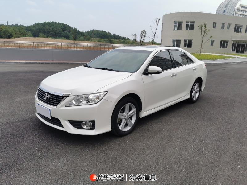 新到2012年10月丰田凯美瑞2.5排量