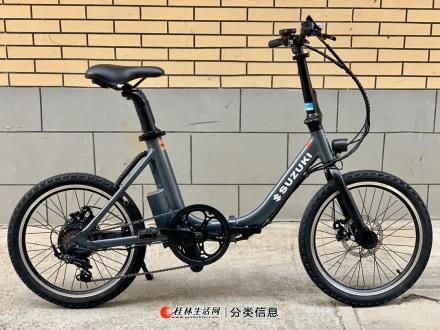 出售日本原装铃木20寸折叠电动自行车!全新!包售后!全国包邮!