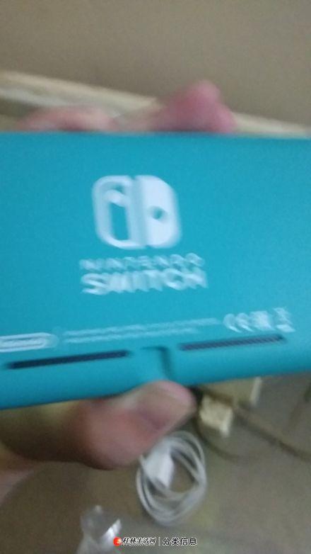 99成新蓝色日版任天堂NS Lite游戏机