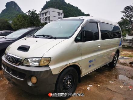 2011年6月江淮瑞风2.8T柴油八座车