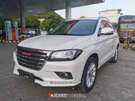 一台民族产业最美白色SUV